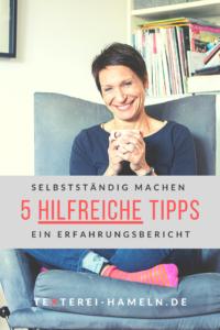 Hilfreiche Tipps auf dem Weg in die Selbstständigkeit von Inga Symann, Texterei Hameln