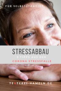 Stressabbau_3 Tipps aus der Corona Stressfalle_Inga Symann