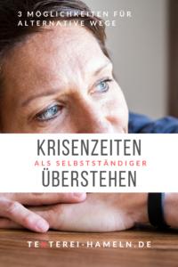 Krisenzeiten als Selbstständiger überstehen_Inga Symann