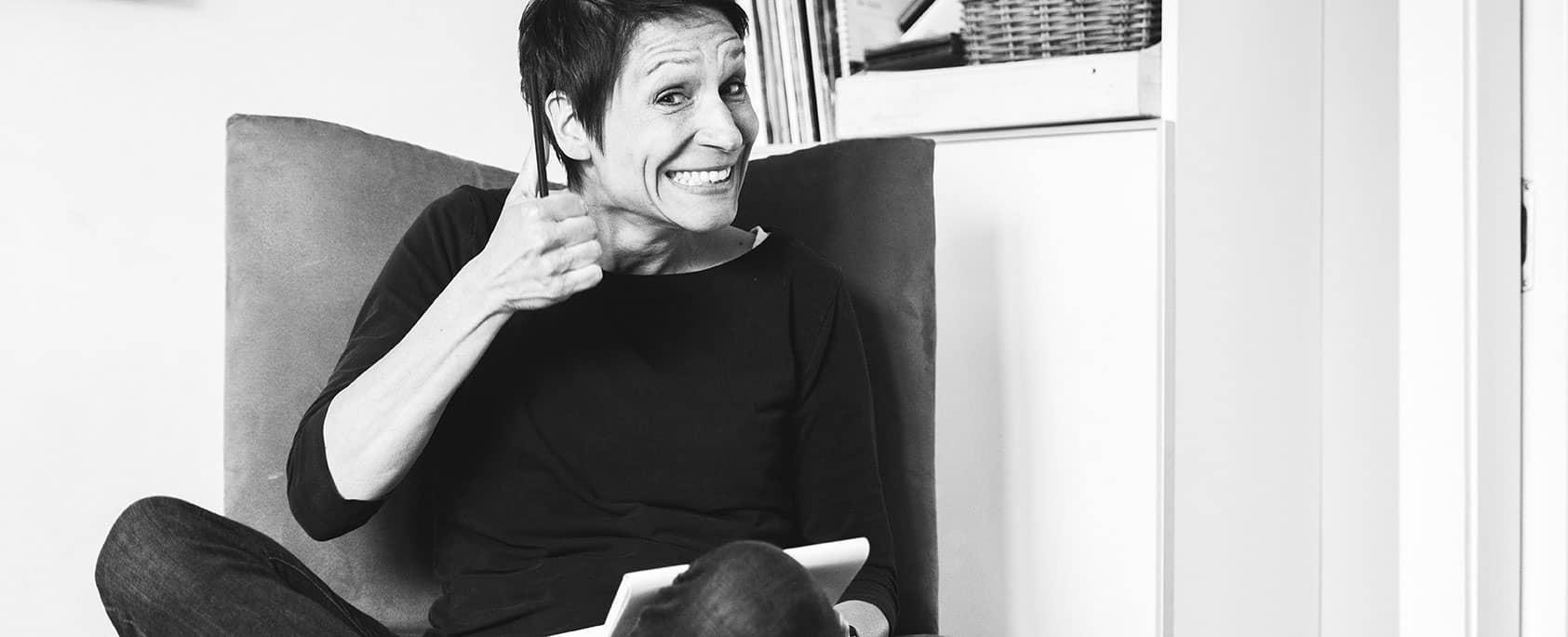 Daumen hoch von Inga Symann für Werbetexte erstellen lassen